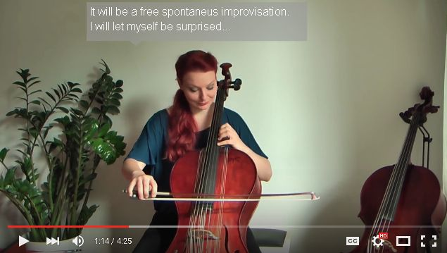 "Campanula Cello – Natural ""Reverb"" without electronic effects"