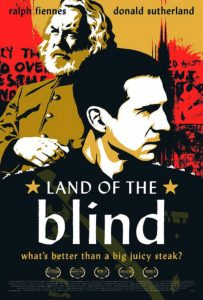 Watch Land of the Blind with Donald Sutherland BEFORE Hunger Games Fame!